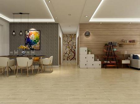 温暖的质感,带出沉稳的格调|玉金山全瓷木纹砖厂家